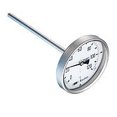 Baumer Bourdon Bimetall-Thermometer Edelstahl