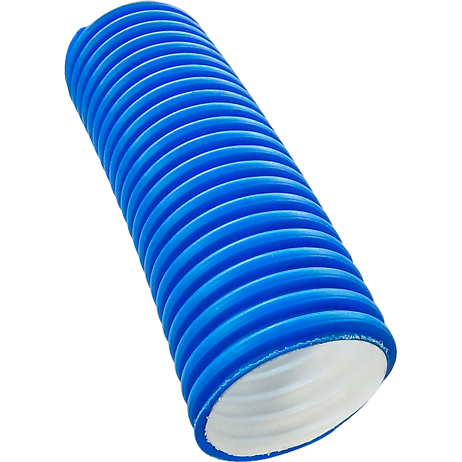 Lüftungsrohr 110 mm flexibel aus Polyäthylen (Hdpe)