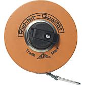 Rollbandmass Stahl 20m lang 13 mm breit;  mm-Teilung