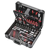 Toolcraft Y-132 Werkzeugkoffer, 132-teilig (Jet-Schraubenz.)