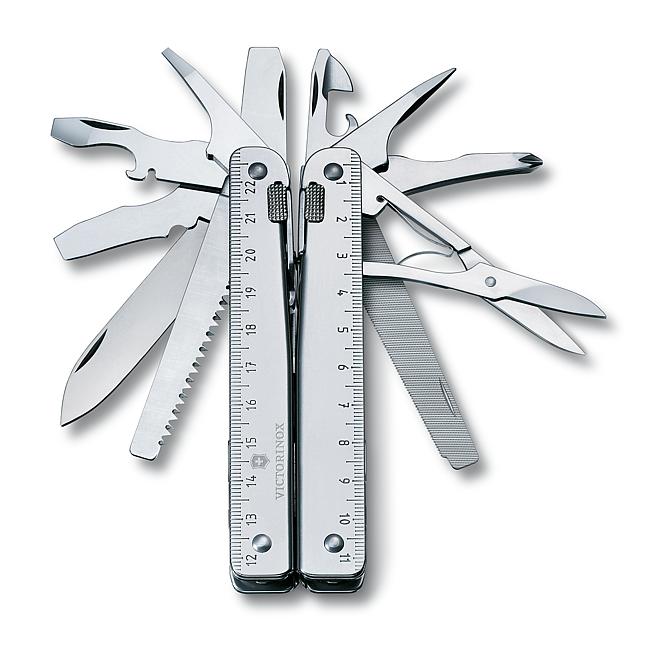 Victorinox Swiss Tool x, im Leder Etui