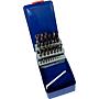 Hss-Co Spiralbohrer 1-13/0.5 Kobaltlegiert in Kassette