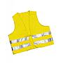 Warnweste Neongelb 100% Polyester