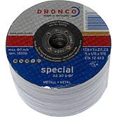 Trennscheibe AS 30 S 115 Dicke: 3.0 mm für Metall; Baustahl
