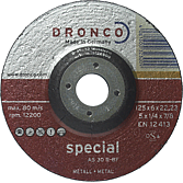 Schruppscheibe 115x22x6.0 für Stahl