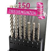 Premium Hammerbohrer Set 7-tlg. SDS-plus 4- Schneider