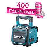 Makita DMR202 Akku Lautsprecher Bluetooth (ohne Akku)
