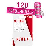 Netflix Geschenkkarte im Wert von 40.- Chf