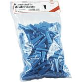 Bodenkeile; blau Beutel à 250 Stück