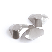 Ecken-Diener - Hygienische Innenecken aus Edelstahl für Silikonfugen und Fliesen-Innenecken