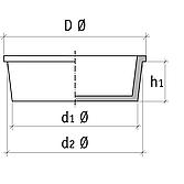 Kegelstopfen Ks-1 19mm für Messöffnungen