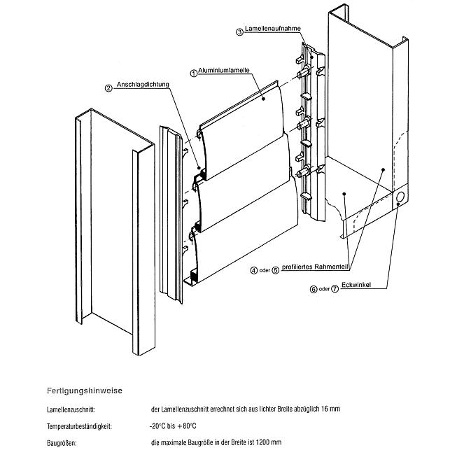 Eckwinkel 20mm, verzinkt für Rahmenprofil zu Über- Druckkl.