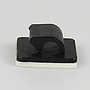 Letzte Chance: Kabelbriden 16x16, schwarz selbstklebend