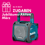 Makita Akku Baustellen-Lautsprecher DMR202 Bluetooth mit LCD ohne Akku