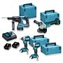 Makita Top Deal Set mit 4 Maschinen
