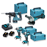 Makita Top Deal Set mit 4 Maschinen