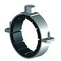 Rohrschelle 2-Teilig Verzinkt | EPDM mit Schallschutz für Gas- & Wasserleitungsrohre