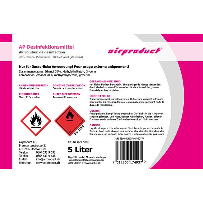 AP Desinfektionsmittel