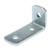 Eckverbinder 3-Loch, verzinkt, 41 x 104mm, 90°
