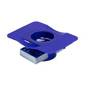 Gewindeträger | Flügelmutter Verzinkt/ PP für alle 41mm Montageschienen (Profi Knopf-System)