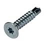 Selbstbohrschraube SBS Senkkopf Torx 10 Verzinkt Toleranz DIN 7504P mit Bohrspitze und Bit