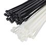 Kabelbinder 2.5x100mm S aus Nylon 66 Schwarz