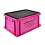 "Stapel-Transportkasten ""Pink Box"""