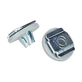 AP Blechdübel BD 1 mit Dichtscheibe aus Epdm-Gummi geeignet für Bleche von 0.75 - 0.90mm Stärke auch zur Befestigung von Lamellen in Wetterschutzgittern geeignet