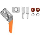 Dd-Spec-Seal Bolzen Nw 12.7, verzinkt Klappensteller komplett rund