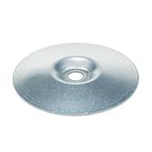 Blechteller Stahl Verzinkt Loch 8.5mm zur Kanalaussteifung