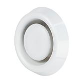Abluftventil aus Kunststoff ~Ral9010 Weiss 80