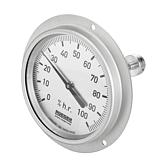 Rüeger Hygrometer Verzinkt mit Schaft