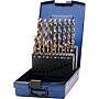 Hss-E Spiralbohrer 1-10 / 0.5 Kobaltlegiert in Kassette