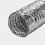 Schlauch Aluminium Hochflexibel mit Isolierung aus Glasfaserwolle | Brandschutzzertifikat