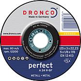 Trennscheibe A 24 R 125 Dicke 3.0mm für Metall