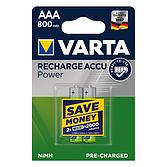 Batterie Varta Ready Akku Microaaa Blister 2 Stück