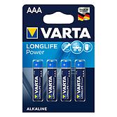 Varta Batterie Aaa - Lr03 1.5 Volt Blister mit 4 Stück Super