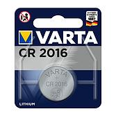 VARTA Batterie CR2016 3 Volt 90mAh Lithium (Bl 1 Stück)