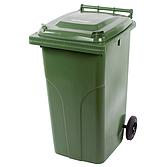 Abfallbehältergrün, Inhalt 240Liter