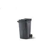 Abfallbehälter Anthra,Inhalt240Liter(58x75)Nutzl. 112Kg,H107
