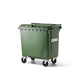 Abfallbehälter J. Ochsner 770 Litergrün