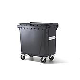 Abfallbehälter J. Ochsner 770 Liter Anthrazit