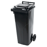 Abfallbehälter J. Ochsner 140 Liter Anthrazit
