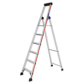 HYMER Stufenstehleiter mit Plattform 4026 / 6 Stufen