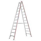 Hymer-Sprossenstehleiter 3.53m 2 x 12 Stufen (Sc 60)