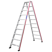 Hymer-Stufenleiter 2.50m 2 x 10 Stufen (Sc 60)