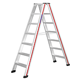 Hymer-Stufenleiter 2.00m 2 x 7 Stufen (Sc 60)
