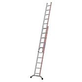 Hymer Schiebeleiter 5.5m zweiteilig, 2x10 Stufen