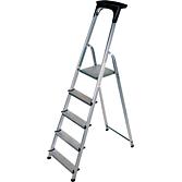 Brennenstuhl Stufenstehleiter mit Plattform einseitig begehbar