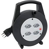 Kabelbox 4xschutzkontakt-Steckdosen 230V/ 10A Mit...